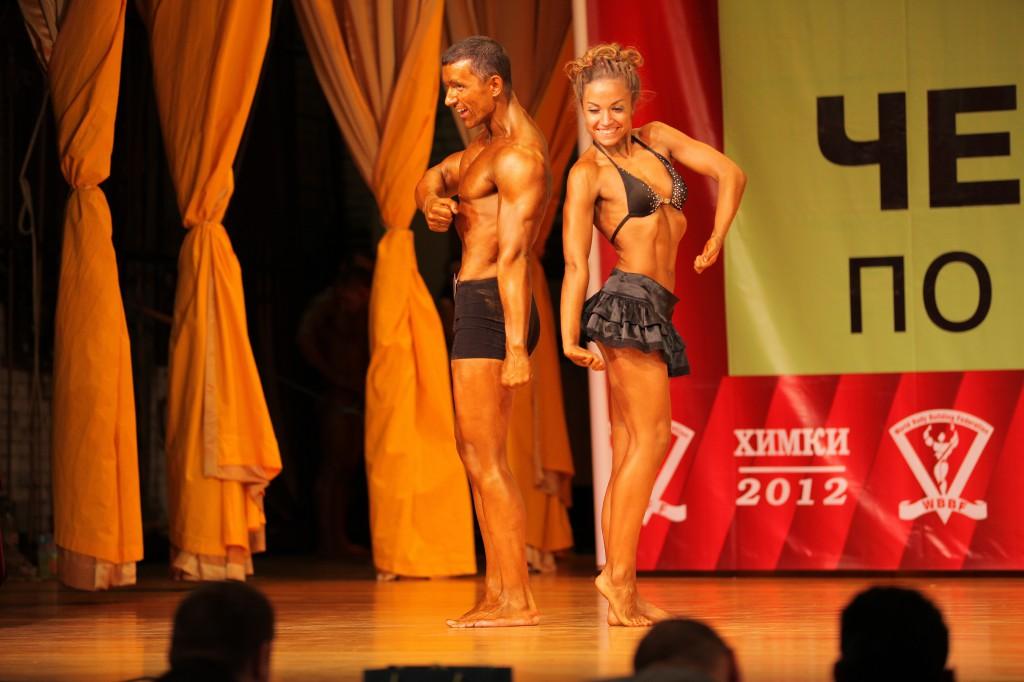 Открытый чемпионат России по атлетическому фитнесу 2012г